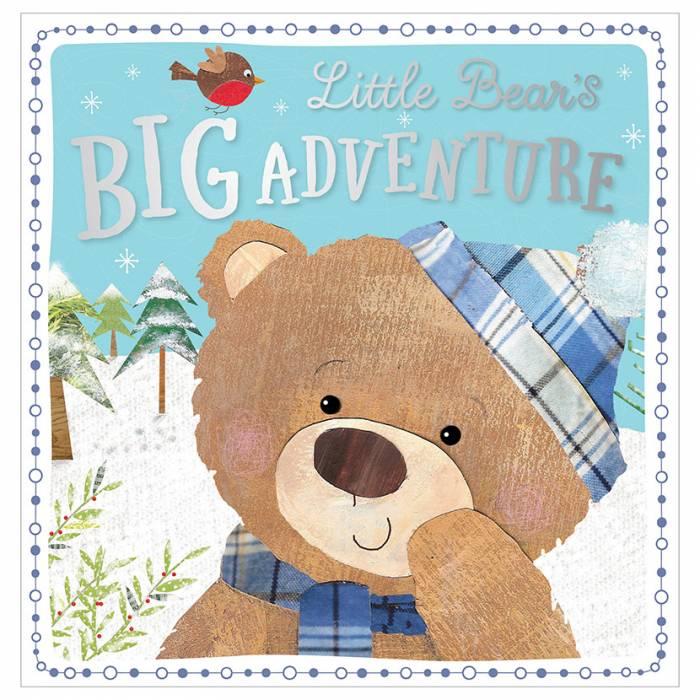 First Spread of Little Bear's Big Adventure (9781786923547)