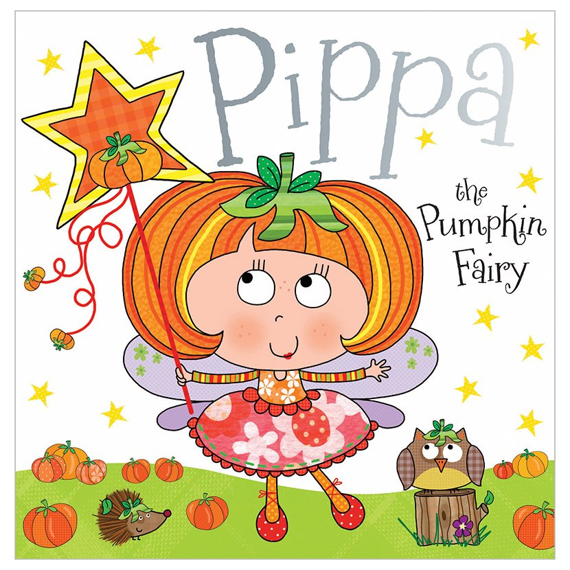 First Spread of Pippa the Pumpkin Fairy (9781783939008)