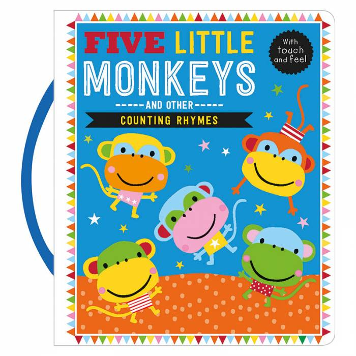 First Spread of Five Little Monkeys and Other Counting Rhymes (9781785989469)