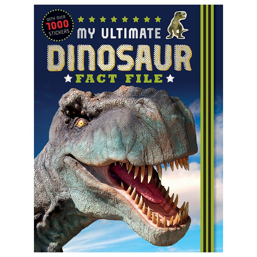 First Spread of My Ultimate Dinosaur Fact File (9781785982545)