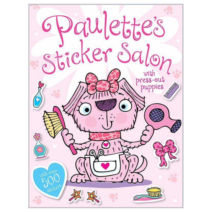 First Spread of Paulette's Sticker Salon (9781783934447)