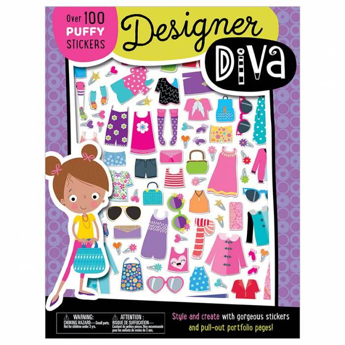 First Spread of Designer Diva (9781789476583)