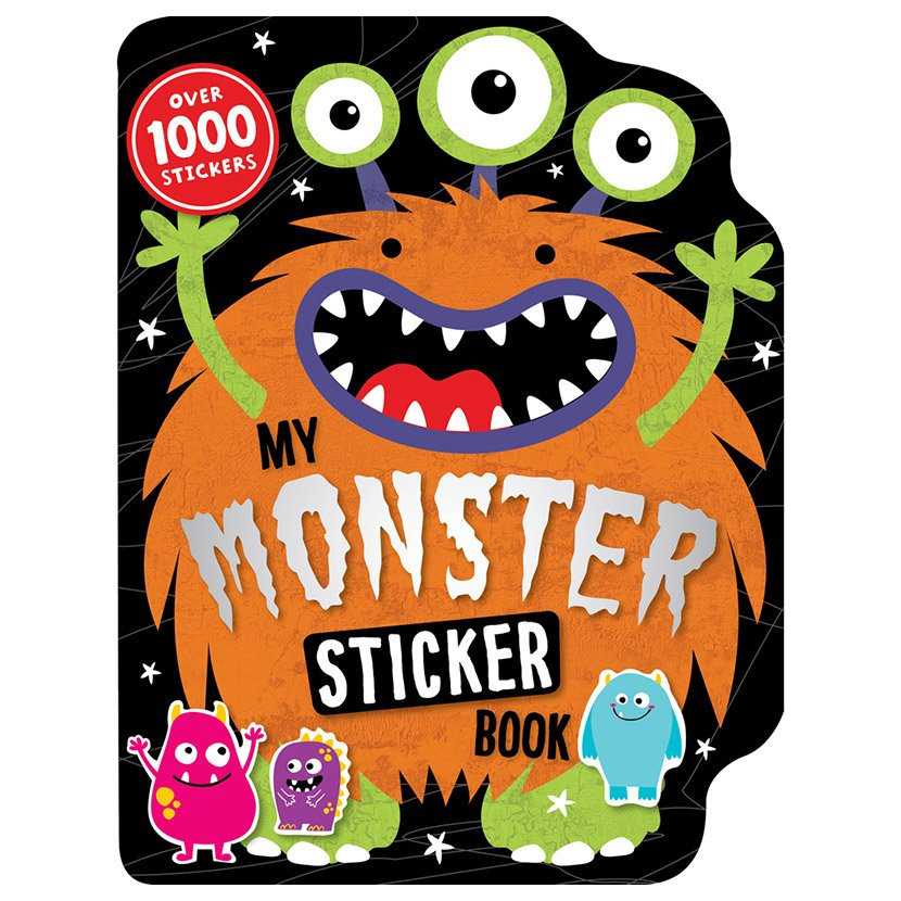 First Spread of My Monster Sticker Activity Book (9781783938391)