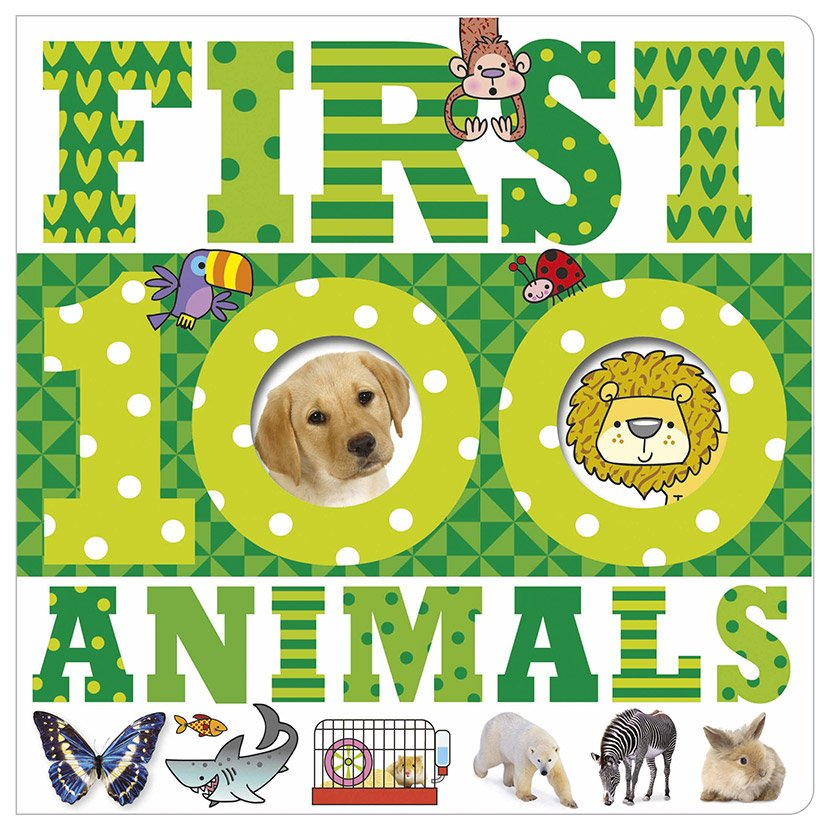 First Spread of First 100 Animals (9781783935291)