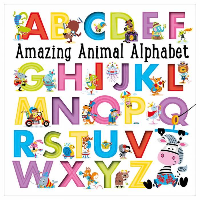 First Spread of Amazing Animal Alphabet (9781785986512)