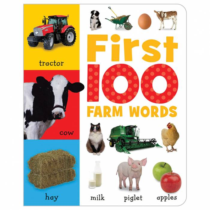 First Spread of First 100 Farm Words (9781848795679)