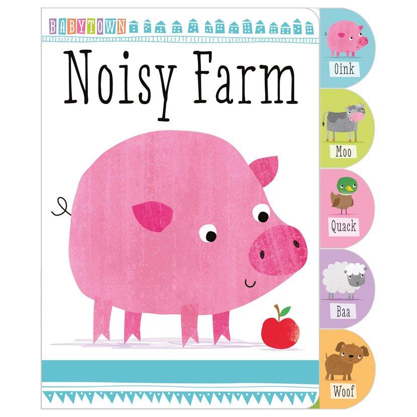First Spread of Noisy Farm (9781783938759)
