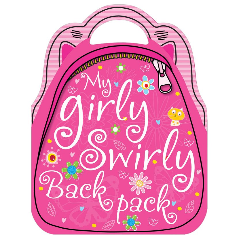 First Spread of My Girly Swirly Sticker Backpack (9781780653822)