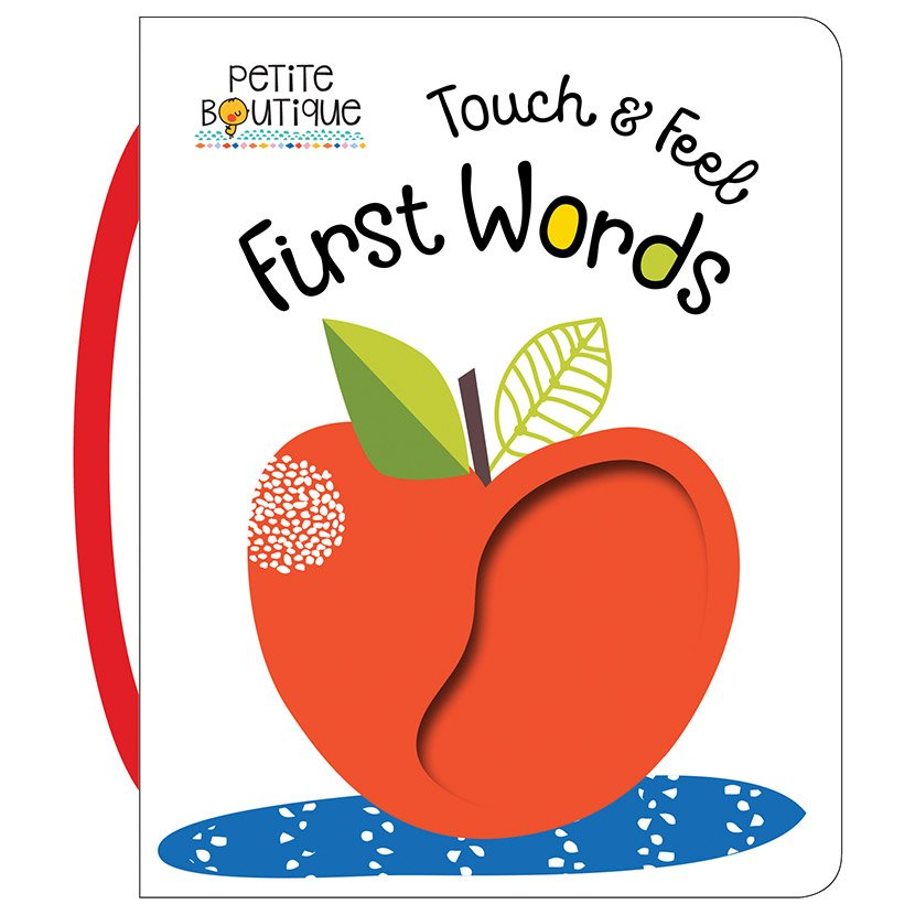 First Spread of Petite Boutique Touch and Feel First Words (9781786921314)