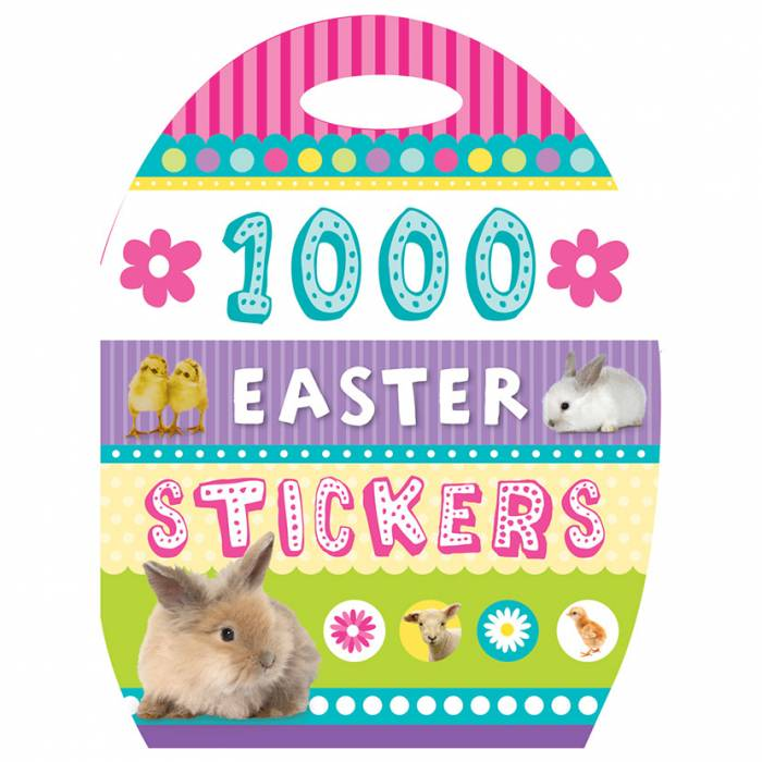 First Spread of 1000 Stickers Easter (9781782350804)
