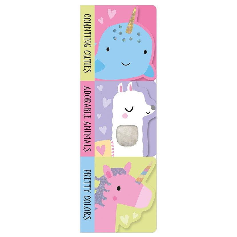 First Spread of Mini Board Book Stack: Adorable Animals (9781788434263)