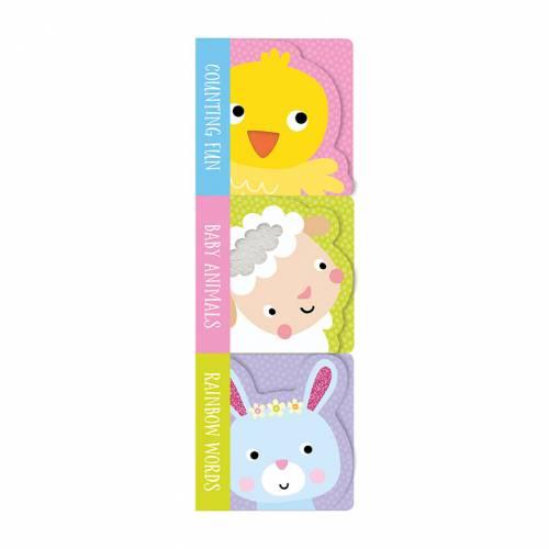 First Spread of Mini Board Book Stack: Spring (9781788435338)