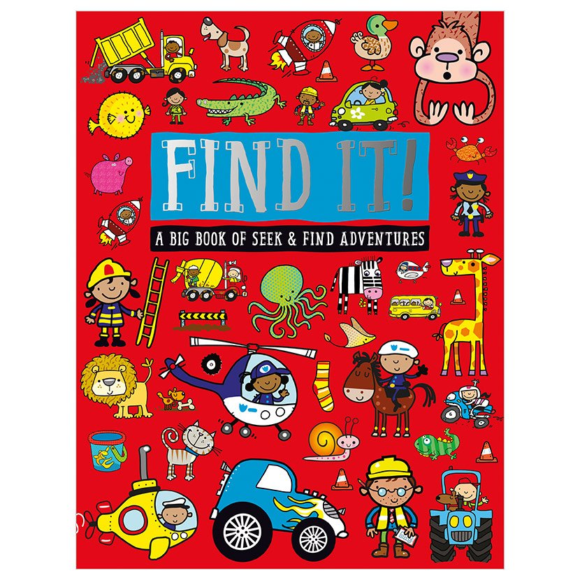 First Spread of Find It! (9781783938285)