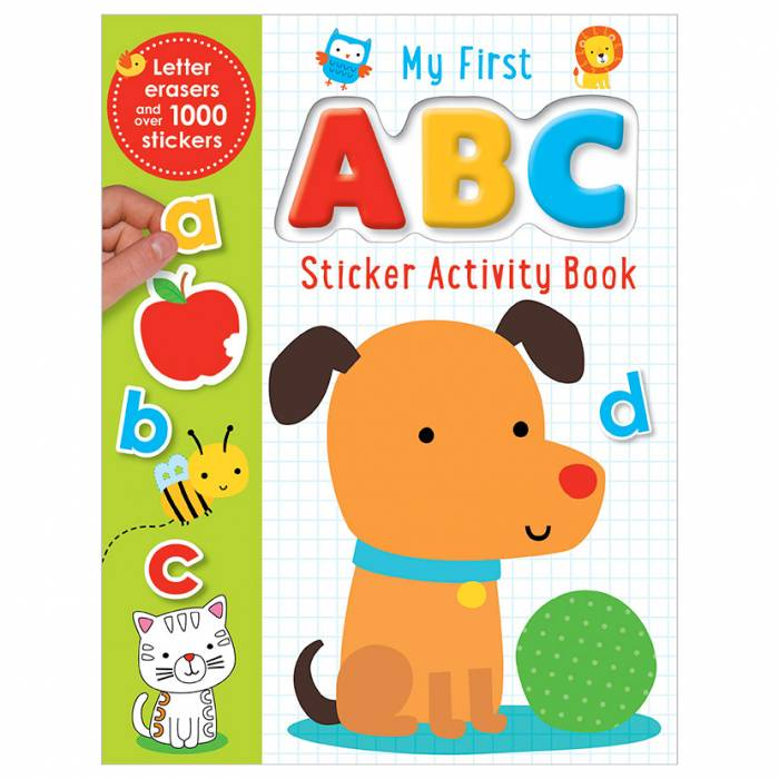 First Spread of My First ABC Activity Book (9781785983498)
