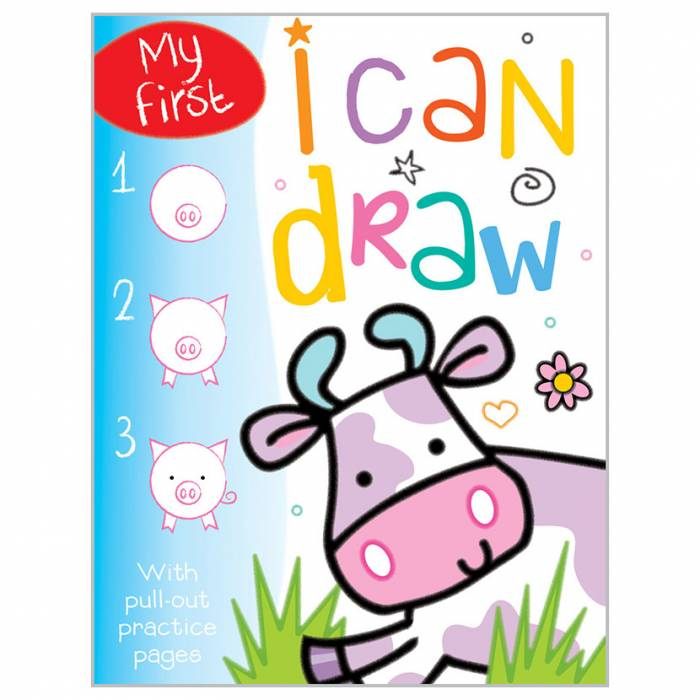 First Spread of I Can Draw Bind Up (9781783931248)