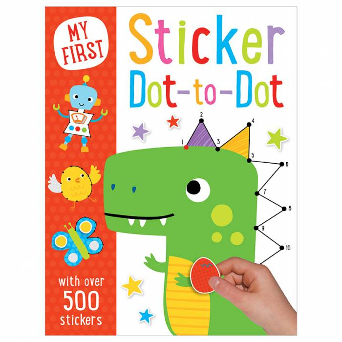 First Spread of Sticker Dot to Dot (9781785984839)