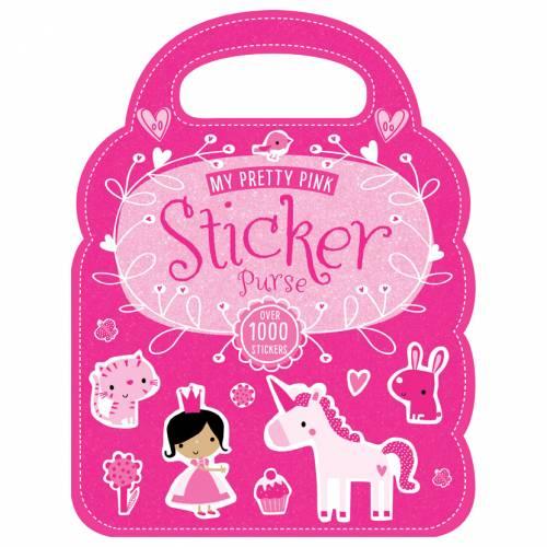First Spread of My Pretty Pink Sticker Purse (9781783937646)