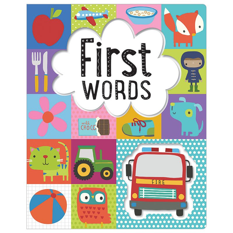 First Spread of First Words (9781783934393)