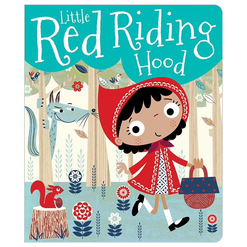 First Spread of Little Red Riding Hood (9781783935369)