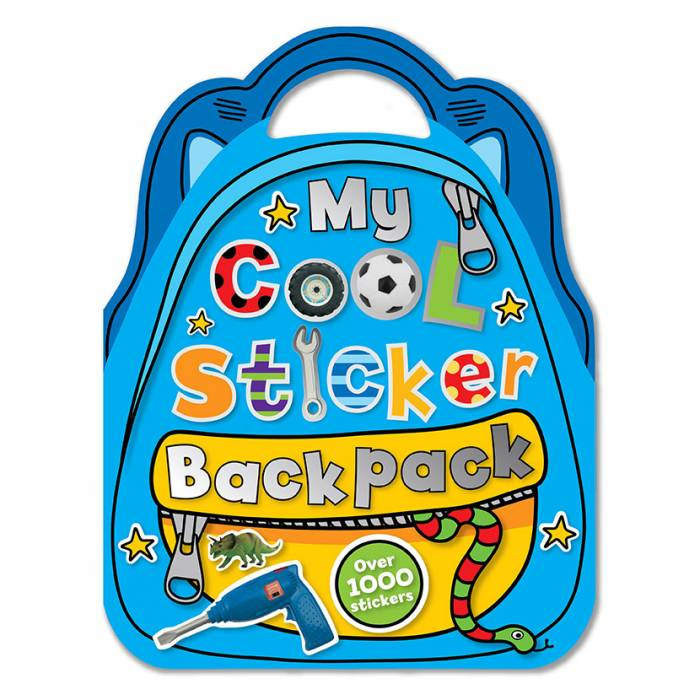 First Spread of My Cool Sticker Backpack (9781848793927)