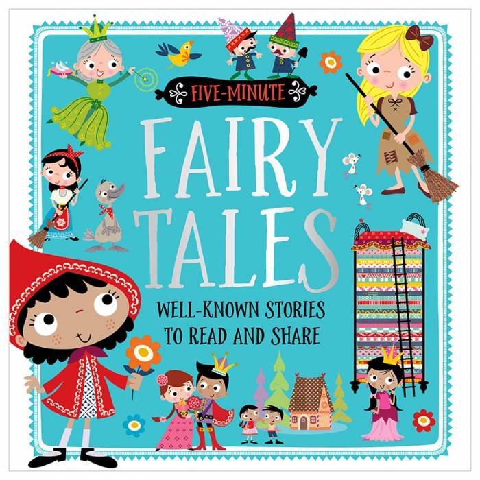 First Spread of Five-Minute Fairy Tales (9781786925718)