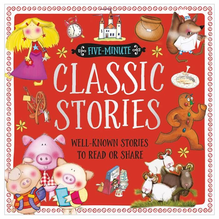 First Spread of Five-Minute Classic Stories (9781786925701)