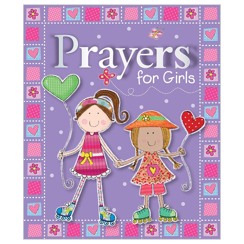 First Spread of Prayers for Girls (9781780657455)