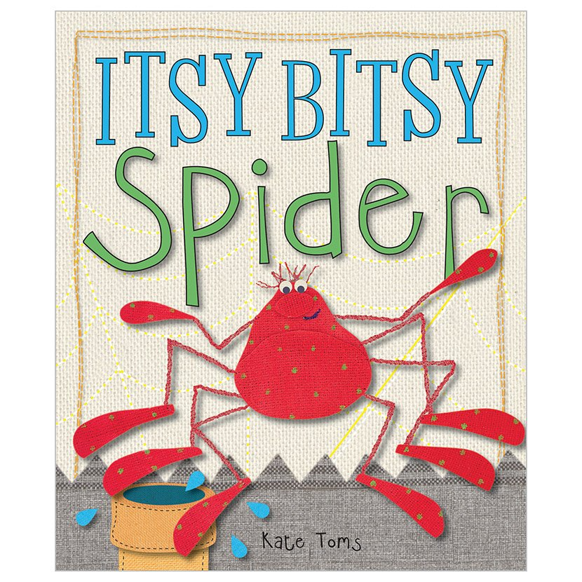 First Spread of Itsy Bitsy Spider (9781846109744)