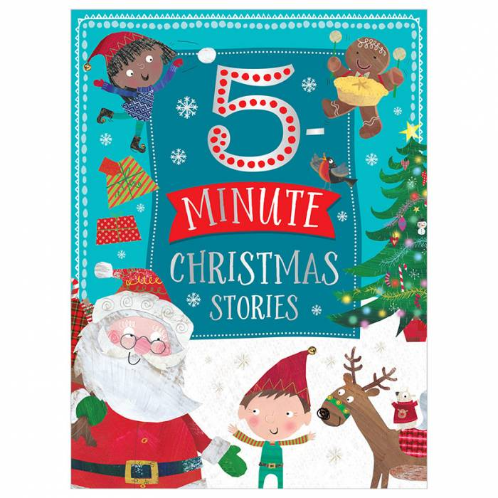 First Spread of 5 Minute Christmas Stories (9781788434706)