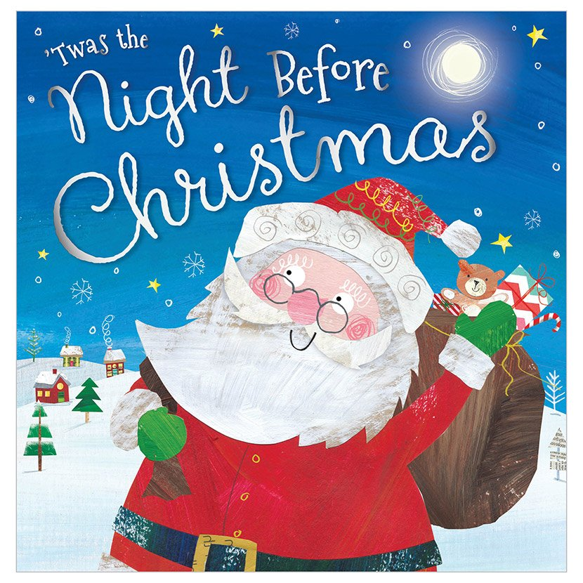First Spread of Twas the Night Before Christmas (9781785984440)