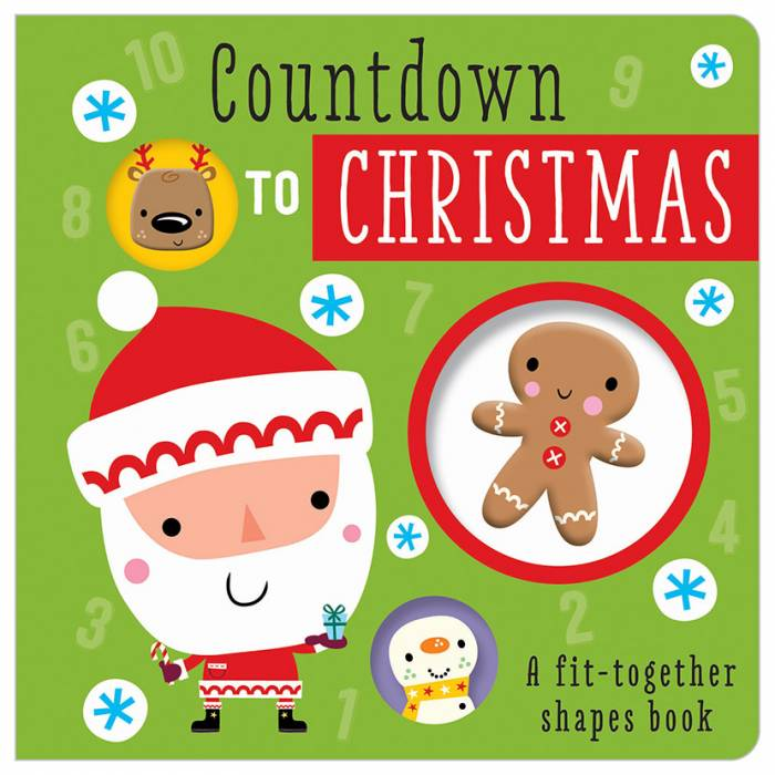 First Spread of Countdown to Christmas (9781783938421)