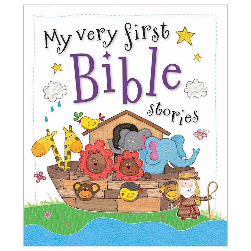 First Spread of My Very First Bible Stories (9781782352709)