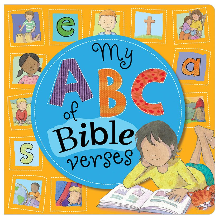 First Spread of My ABC Of Bible Verses (9781848799981)