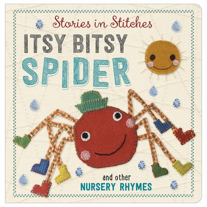 First Spread of Itsy Bitsy Spider and Other Nursery Rhymes (9781785981272)