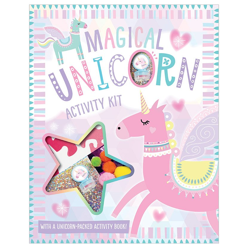 First Spread of Magical Unicorn Activity Kit (9781788436175)