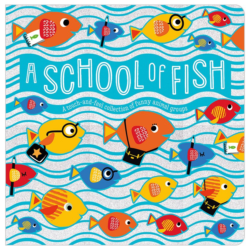 First Spread of A School of Fish (9781788439893)