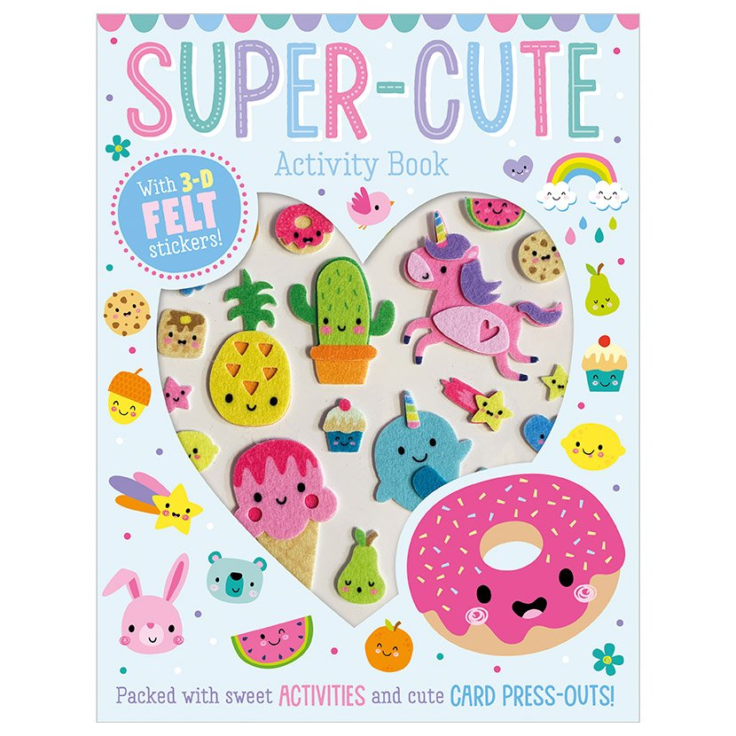 First Spread of Super Cute Activity Book (9781789473940)