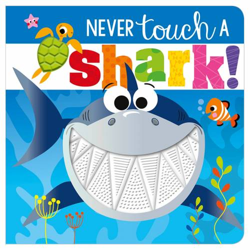 First Spread of Never Touch a Shark! (9781789478860)