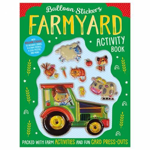 First Spread of Balloon Stickers Farmyard Activity Book (9781789473520)