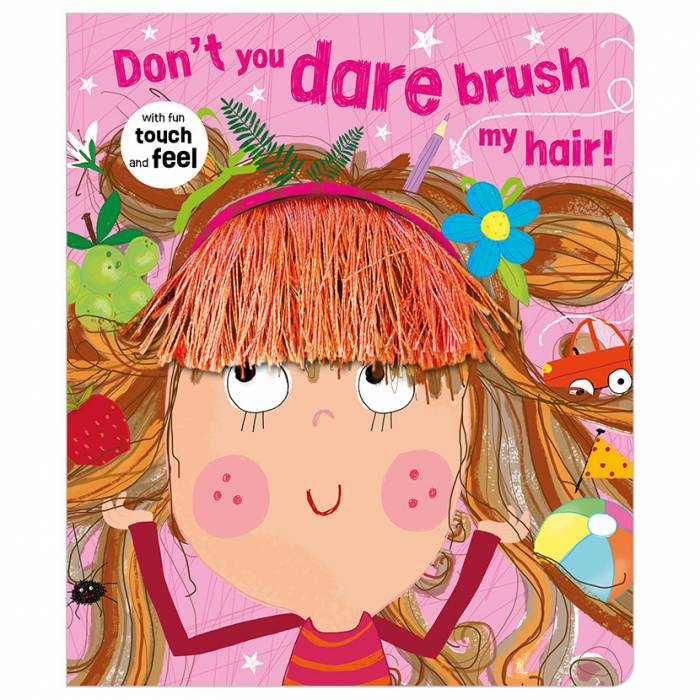 First Spread of Don't You Dare Brush My Hair! (9781789474305)