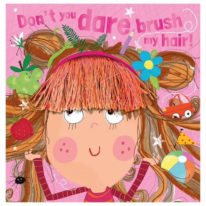 First Spread of Don't You Dare Brush My Hair! (9781789473834)