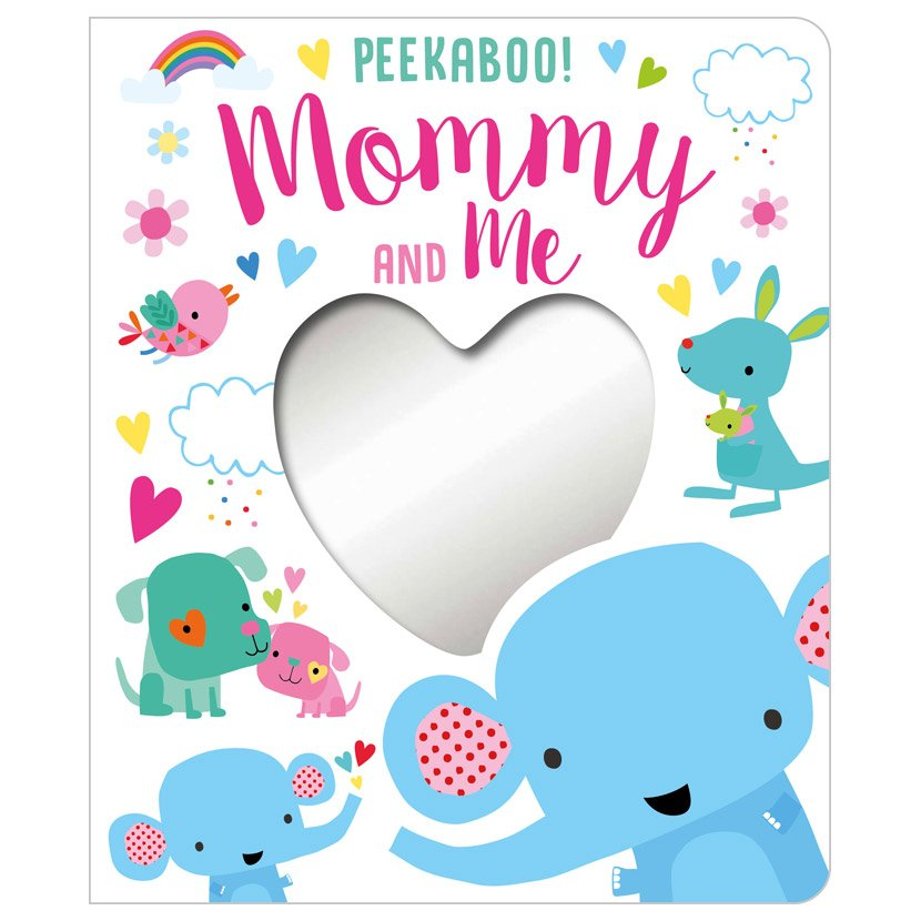 First Spread of Peekaboo! Mommy and Me (9781789471779)