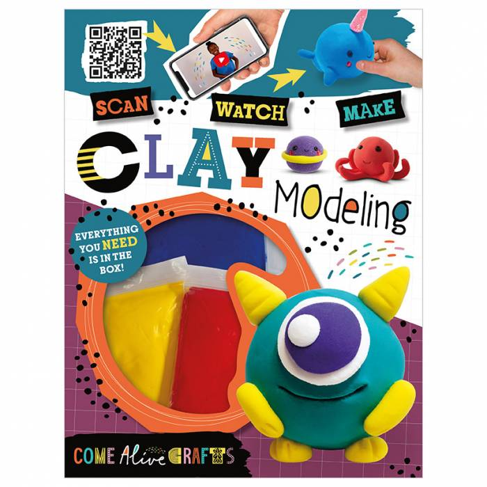 First Spread of Come Alive Clay Modeling (9781789473995)