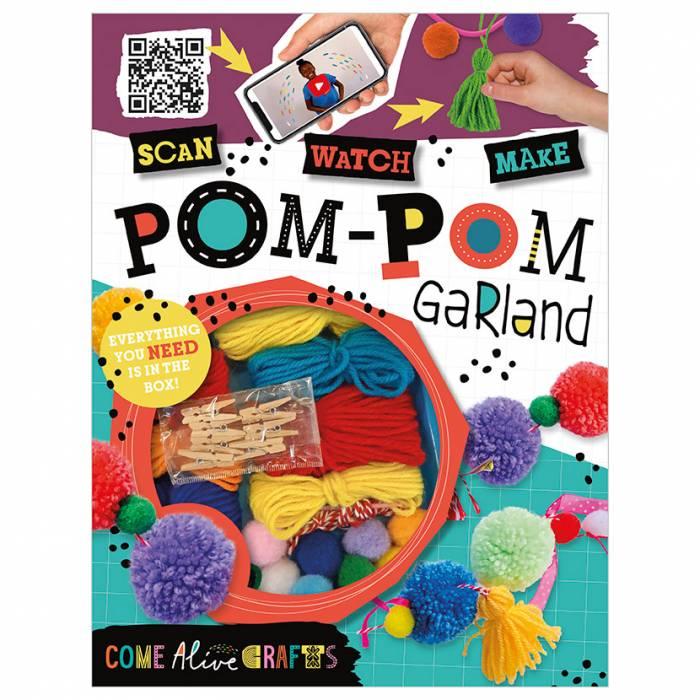 First Spread of Come Alive Pom-Pom Garland (9781789473988)
