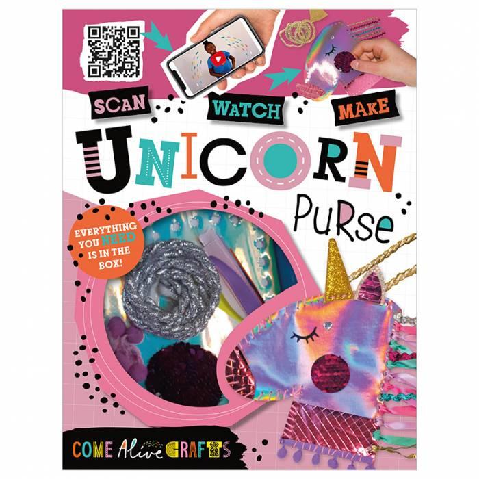 First Spread of Come Alive Unicorn Purse (9781789473971)