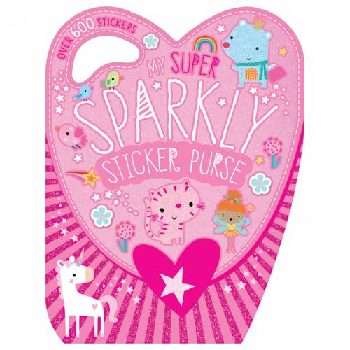 First Spread of My Super Sparkly Sticker Purse (9781789473230)