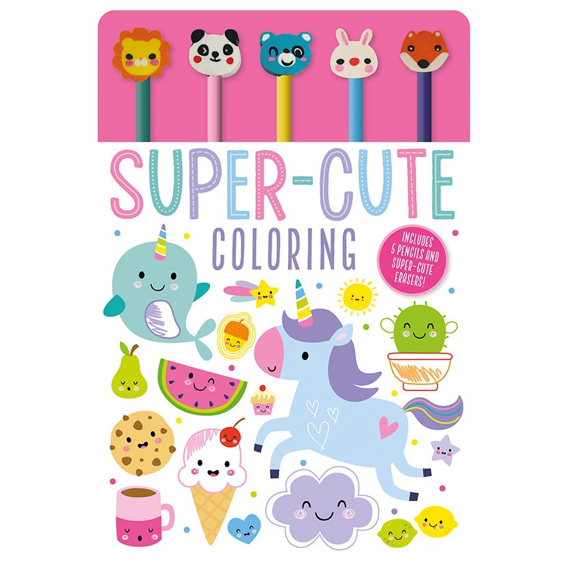 First Spread of Super-Cute Coloring (9781789474466)