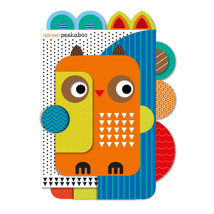 First Spread of Little Owl's Peekaboo (9781789477351)