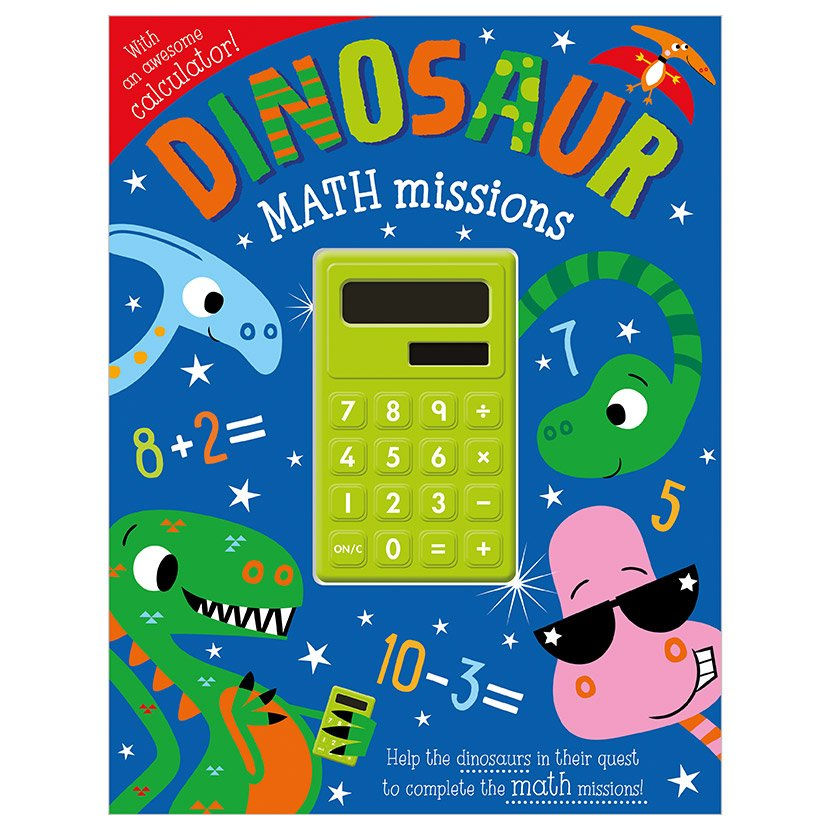 First Spread of Dinosaur Math Missions (9781789477856)