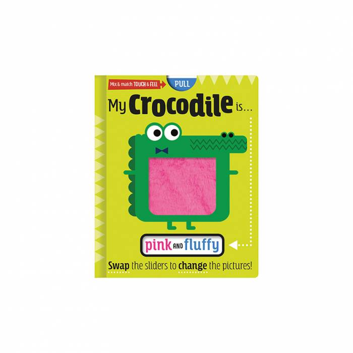 First Spread of My Crocodile is … Pink and Fluffy (9781789477276)